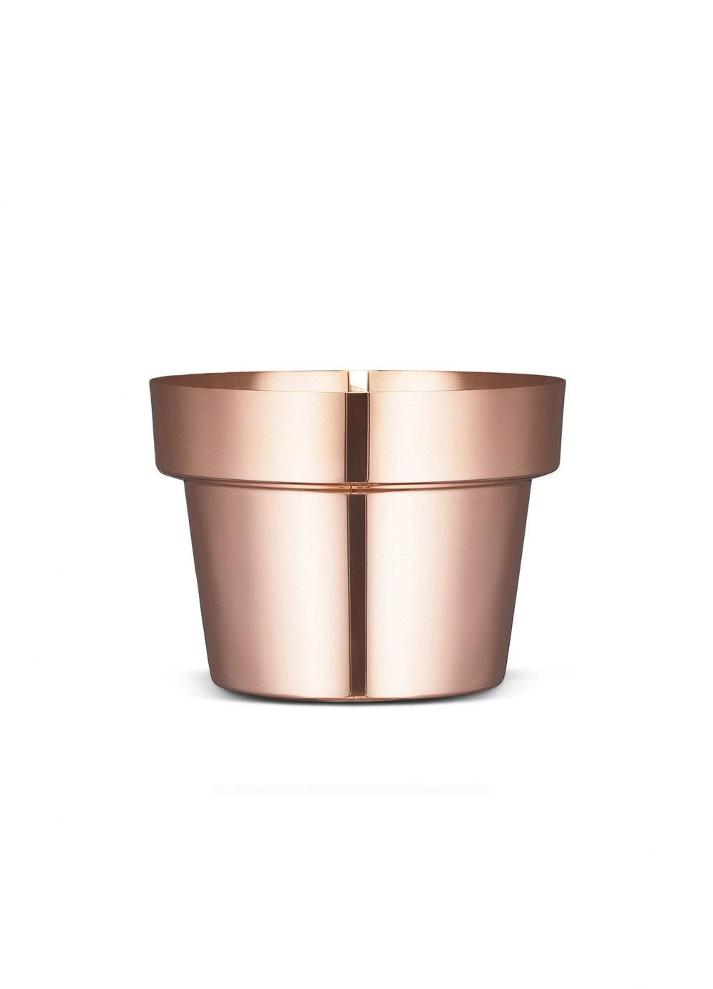 SKULTUNA Flower Pot Polished Copper Small DFE169067