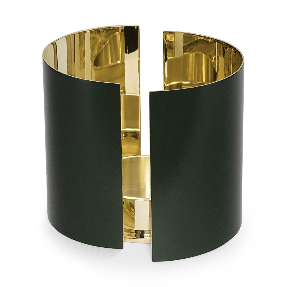 SKULTUNA Infinity Candle Holder Large Dark Green KHE189575