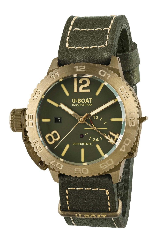 U-BOAT Doppiotempo 46 Bronzo GR 9088