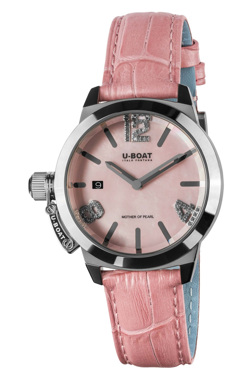 U-BOAT CLASSICO 38 Pink Mother of pearl 8480