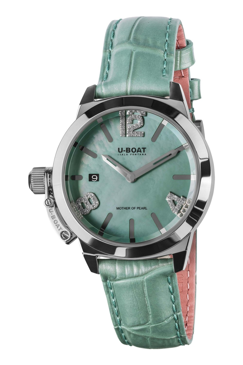 U-BOAT CLASSICO 38 Turquoise Mother of pearl 8481
