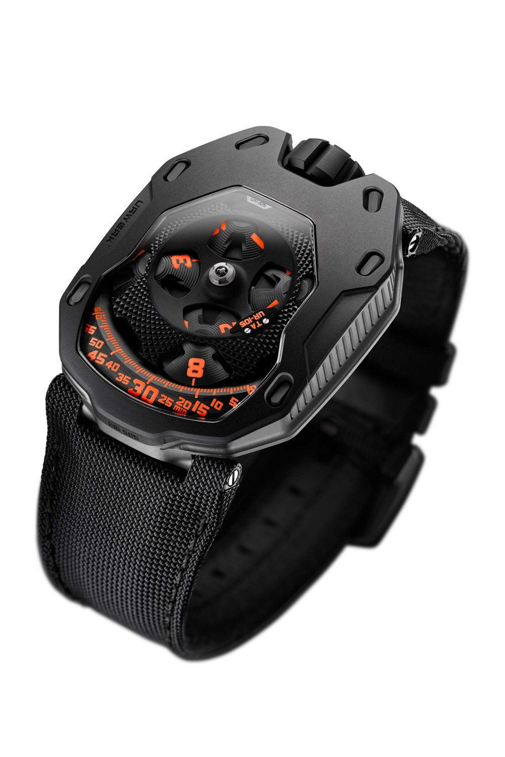URWERK UR-105 Clockwork Orange UR-105-TA