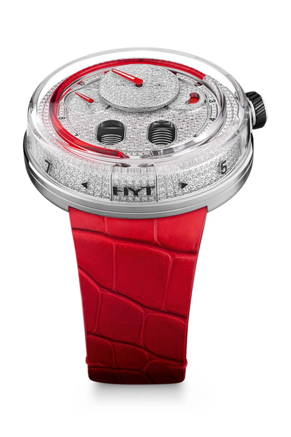 HYT H0 Red with Diamonds 048AC86RFCR