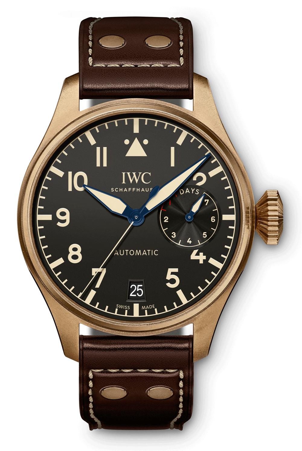 IWC SCHAFFHAUSEN Big Pilot 's Watch Heritage IW501005