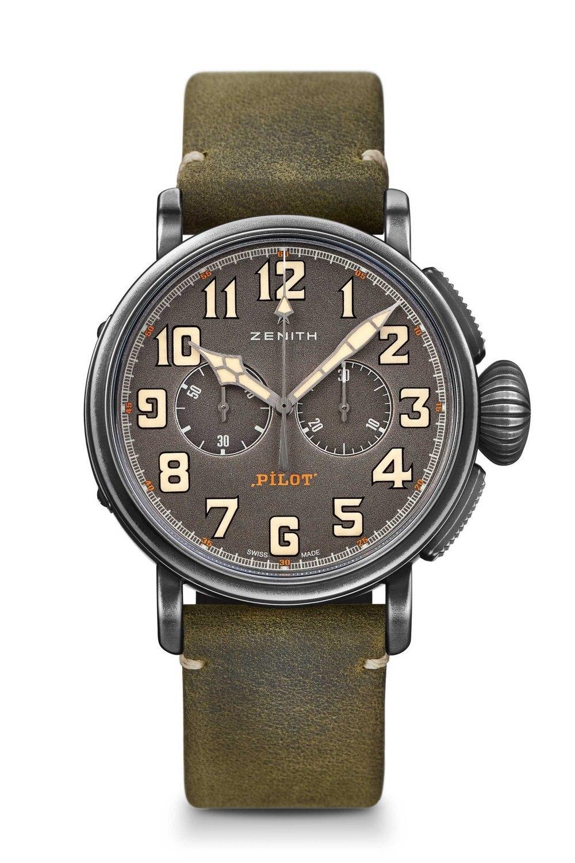ZENITH Pilot Type 20 Chronograph Ton-Up 11.2430.4069/21.C773