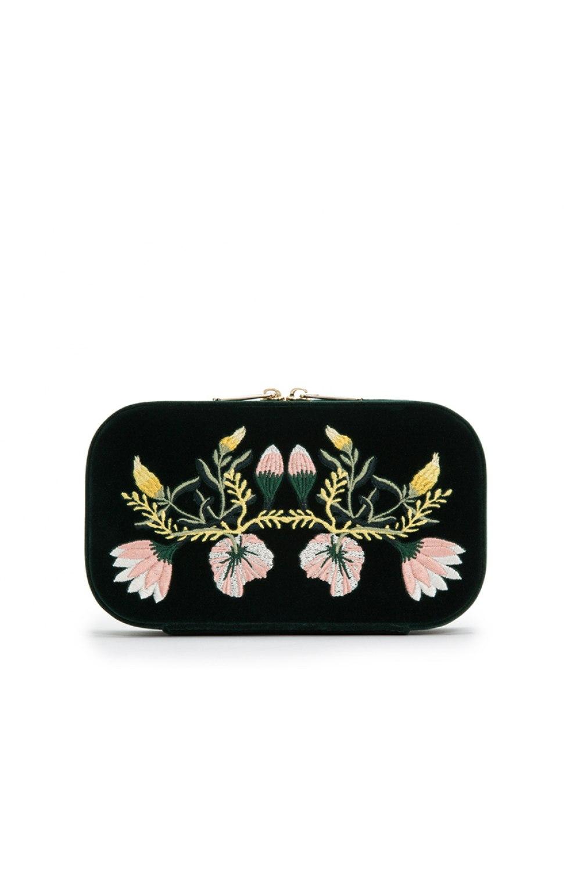 Zoe Travel Zip Jewelry Case