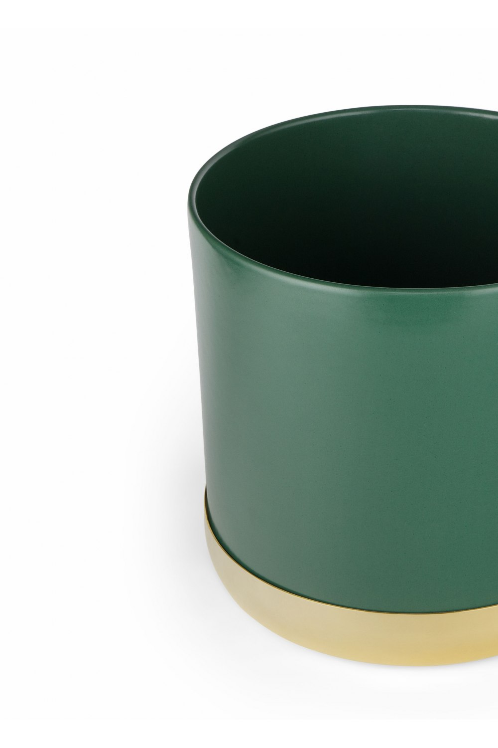 Nurture Planter Large Green with Tray