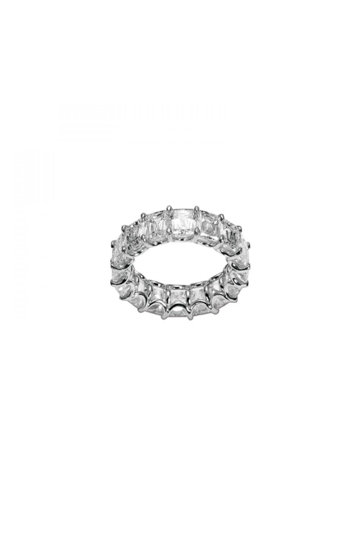 Diamond Eternity Emerald Cut Ring