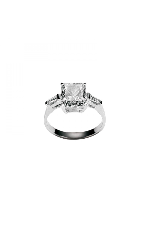 Solitaire Princess Diamond Ring
