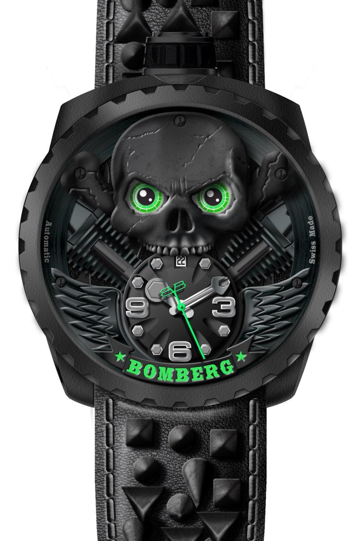 BOLT-68 Skull Rider Black