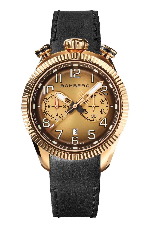 Kessaris-BB-68 Smoked Brown Chronograph