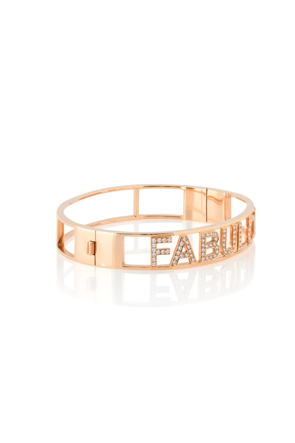 Kessaris-Fabulous Diamond Bangle Bracelet