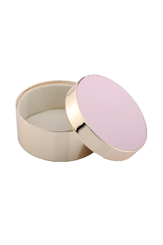 Pink Round Jewelry Box