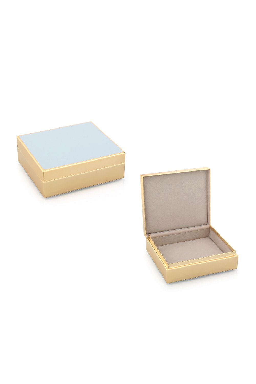 Powder Blue Jewelry Box