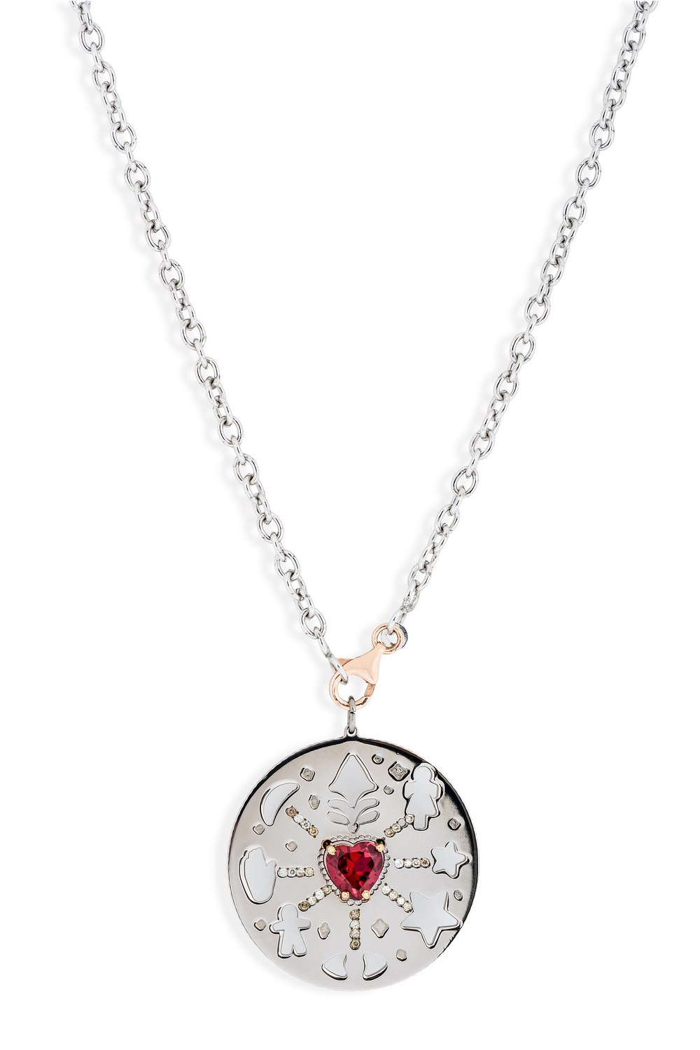 Red Heart Existential Love Pendant