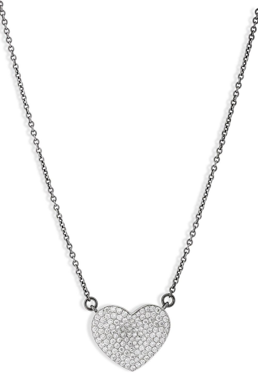 Heart Diamond Pendant Necklace