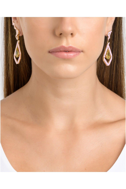 The Cadeau Pink Earrings