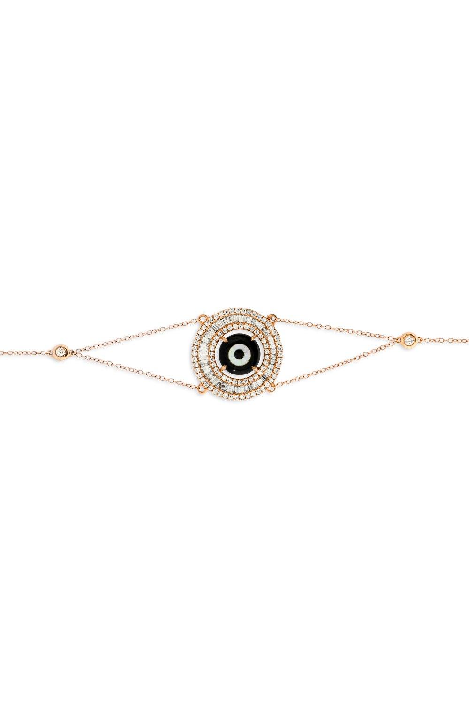 Black Evil Eye Diamond Bracelet