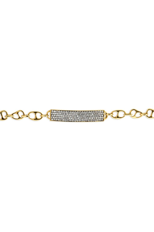 Kessaris-Diamond Gold Bracelet