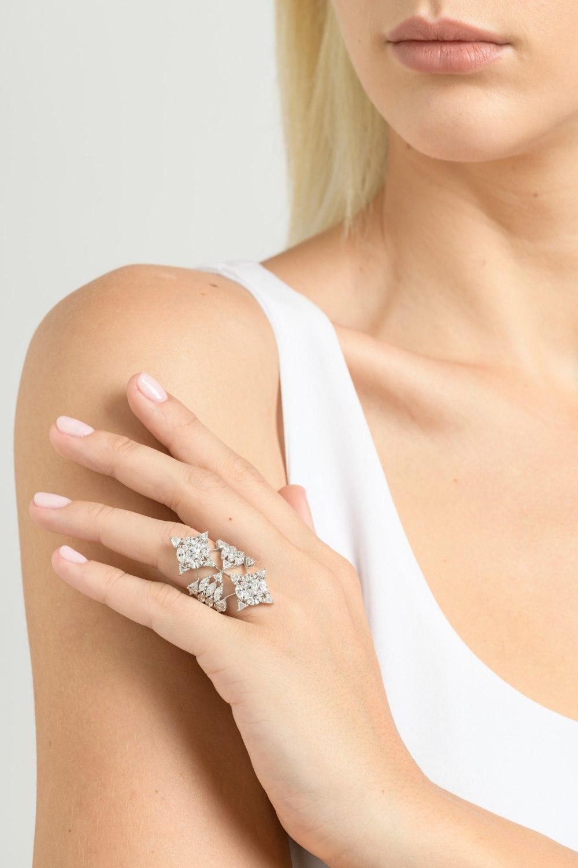 Diamond Shield Ring