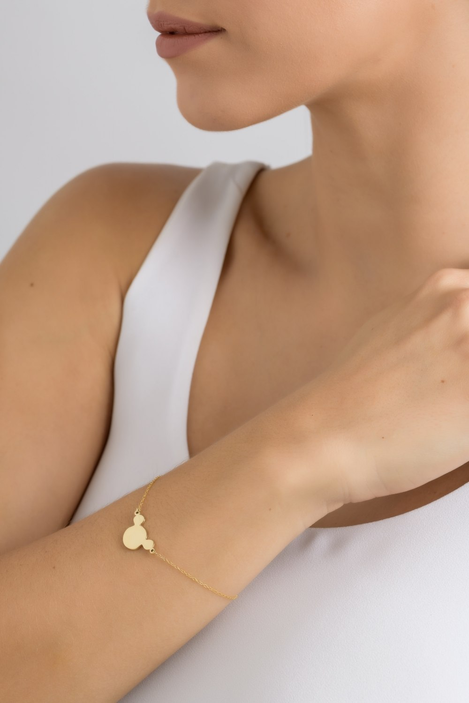 KESSARIS-Mickey Figure Bracelet