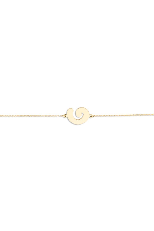 Kessaris-Spiral Figure Bracelet