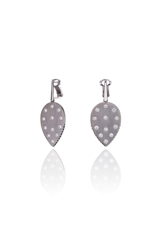 Statement Drop Diamond Earrings