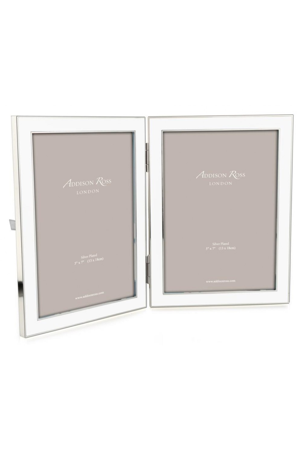 White Double Picture Frame