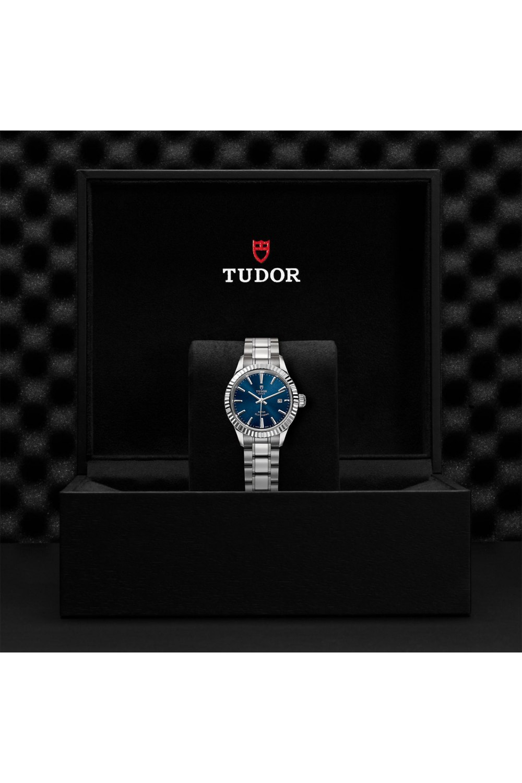 Tudor Style Blue Dial
