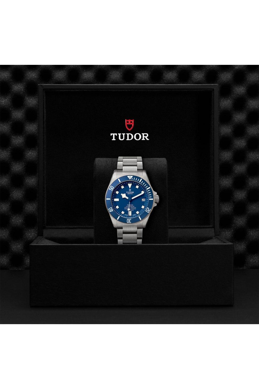 Tudor Pelagos Ceramic matt blue disc titanium bracelet