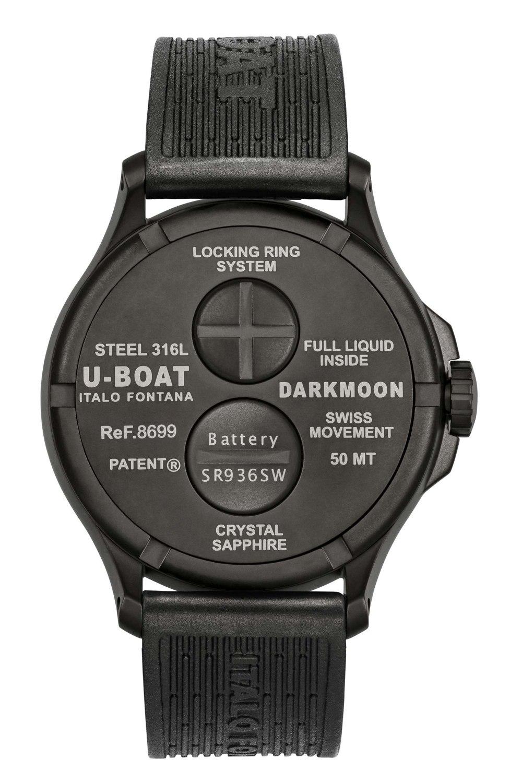 Kessaris-UBoat-Darkmoon 44MM Brown IPB Soleil-Back