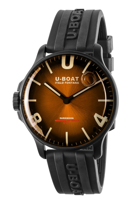 Kessaris-UBoat-Darkmoon 44MM Brown IPB Soleil
