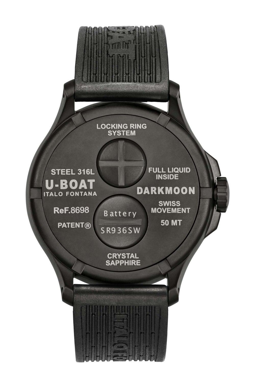 Kessaris-UBoat-Darkmoon 44MM Green IPB Soleil-Back