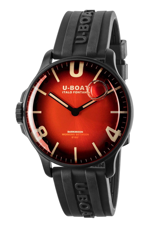 Kessaris-Uboat-Darkmoon 44MM Red IPB Soleil