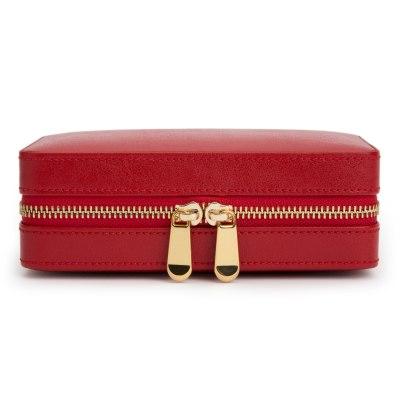 Palermo Red Zip Case
