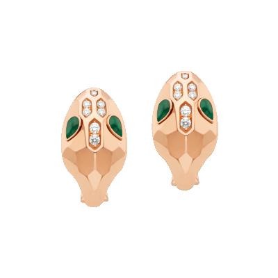 Serpenti earrings