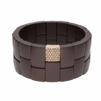 Domino 2 row bracelet