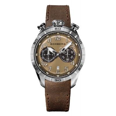 Kessaris-Bomberg-BB-68 Brown Chronograph
