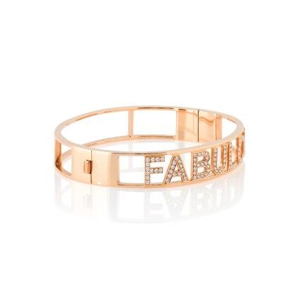 Kessaris-Fabulous Diamond Bangle Bracelet
