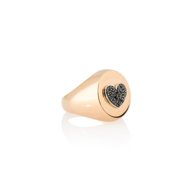 Kessaris-Chevalier Heart Diamond Ring