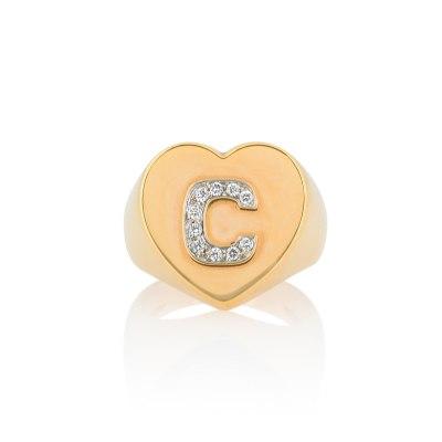 Heart Chevalier Monogram