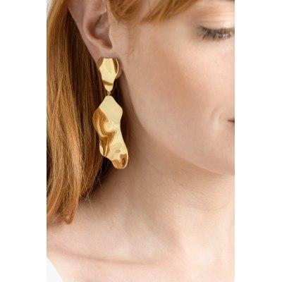 Kessaris-Anastasia Kessaris-Piana Yellow Gold Earrings