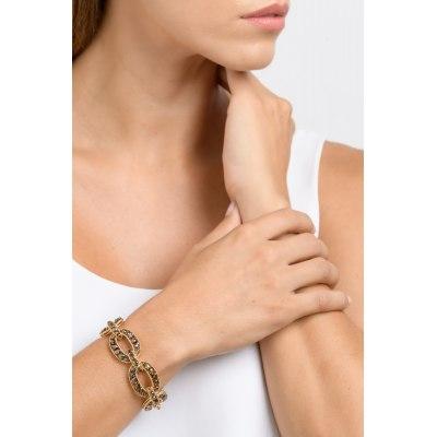 Kessaris-Diamond Gold Chain Bracelet