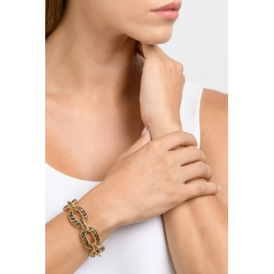 Kessaris-Diamond Gold Chain Bracelet