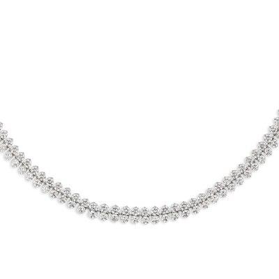 Kessaris Diamond Stream Necklace