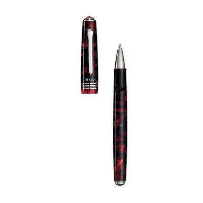 Kessaris-Montegrappa-Tibaldi N60 Ruby Red RollerBall