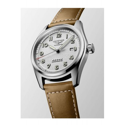 Kessaris-Longines Spirit-Leather Strap