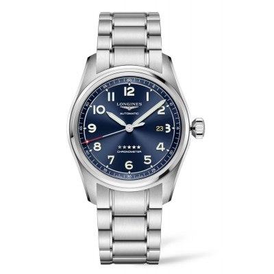 Kessaris-Longines Spirit Blue Dial-Bracelet