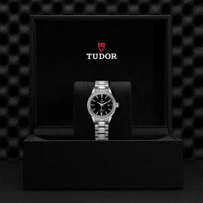 Tudor Style Black Dial