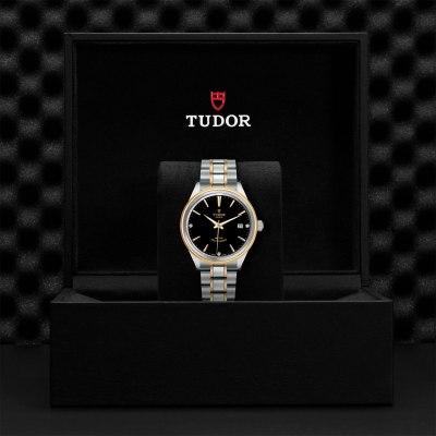 TUDOR Style Black with 3 diamonds